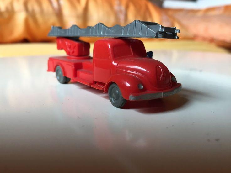 Wiking_620_Magirus_Leiterwagen, #Wiking #Modellautos #ModelCars 1:87 #H0 Magirus LKW #Magirus Alte Wiking Autos