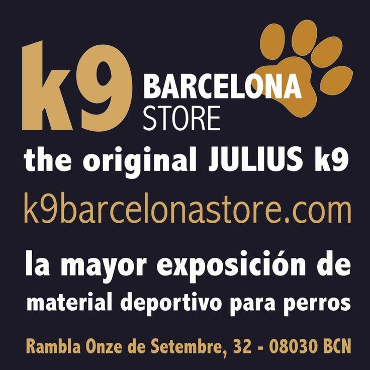 En nuestra tienda de Barcelona, y en la tienda online estamos a vuestro servicio. Ven a vernos con tu perro, y disfrutarás!!! Más de 20 años de experiencia en el mundo del perro deportivo.