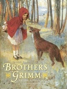 """Capa de """"Le Petit Chaperon Rouge"""", Chapeuzinho Vermelho na versão dos Irmãos Grimm."""