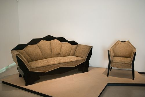 Cubist Furniture at the Museum of Czech Cubism by cphoffman42, via Flickr
