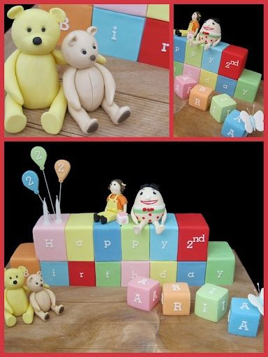 Play School Blocks Cake Come Inside it's a Play School Party