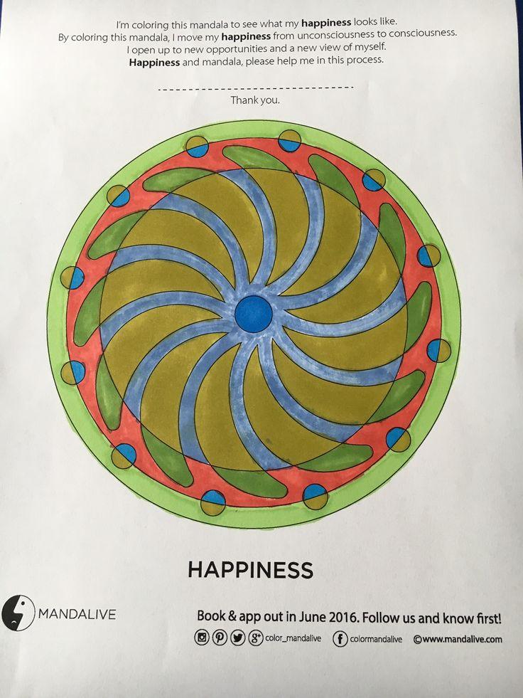 #colormandalive #coloring #happy #betterlife #mandalive #mandala