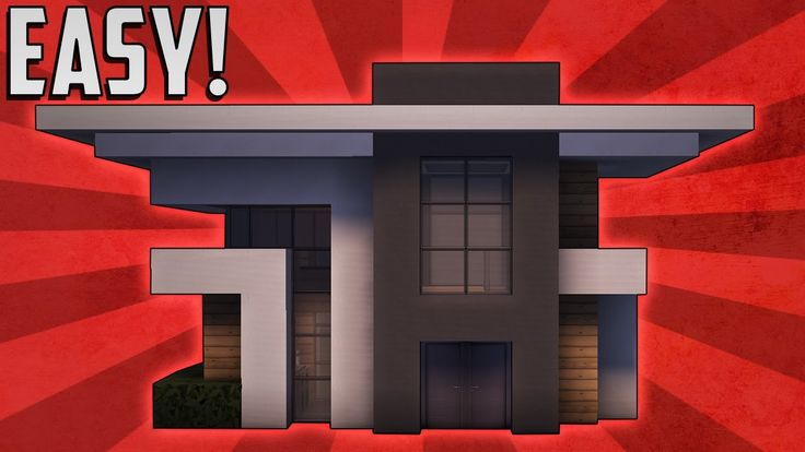 Minecraft: How To Build A Small Modern House Tutorial (#7)