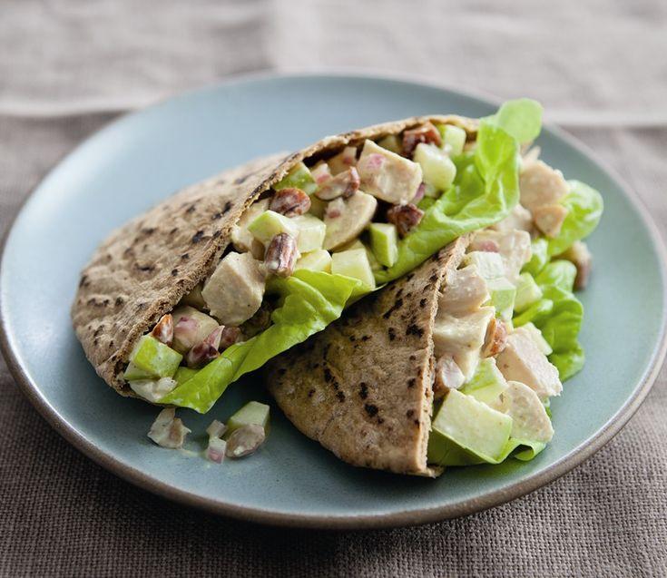 Lightened Lunch: Curried Chicken-Apple Pitas   Williams-Sonoma Taste