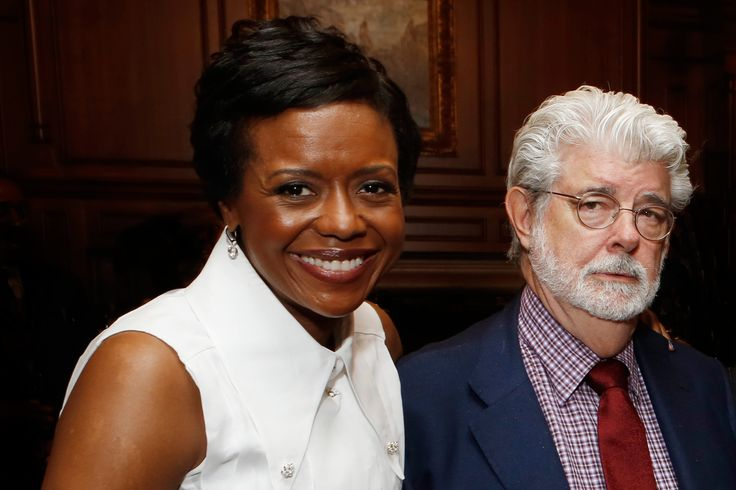 George Lucas Gifts $10 Million to Support African American & Hispanic Students at USC's Film School (Mellody Hobson and George Lucas)