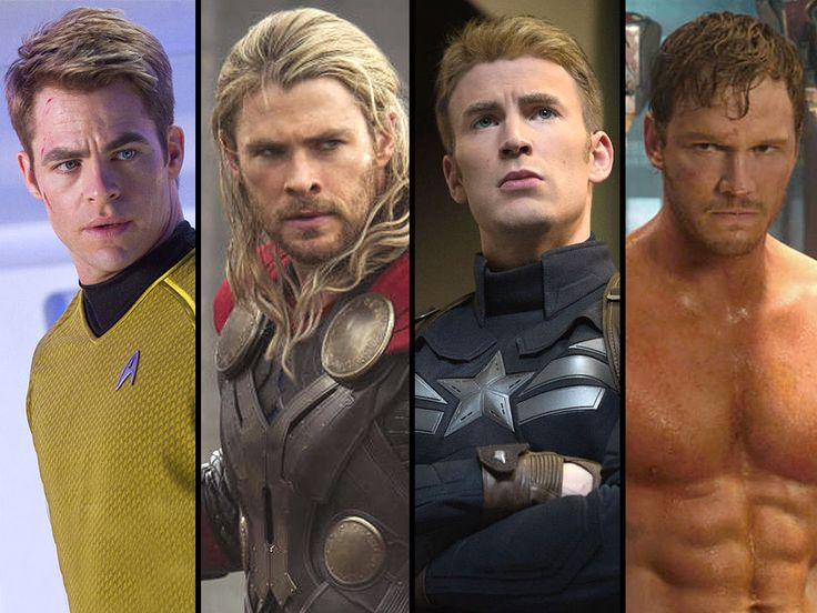 Chris Pratt, Chris Evans, Chris Hemsworth or Chris Pine: Which Chris is Best? Does it really matter? I think it doesn't. They're all gods.