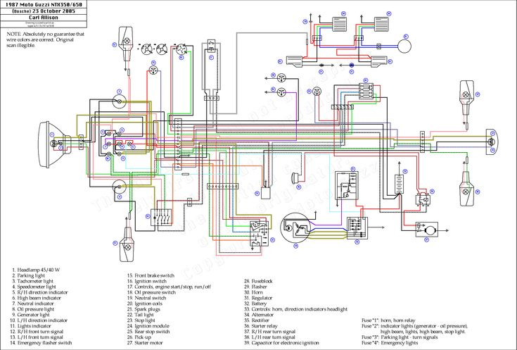 Wiring Diagram For A Yamaha Warrior 350 And Trailer