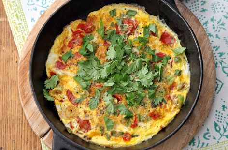 Indian masala omelet