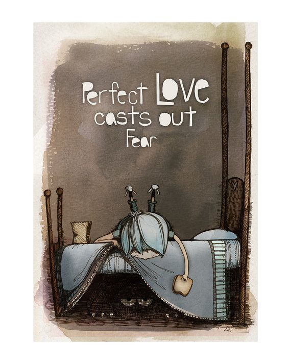 Perfect Love print by Arian