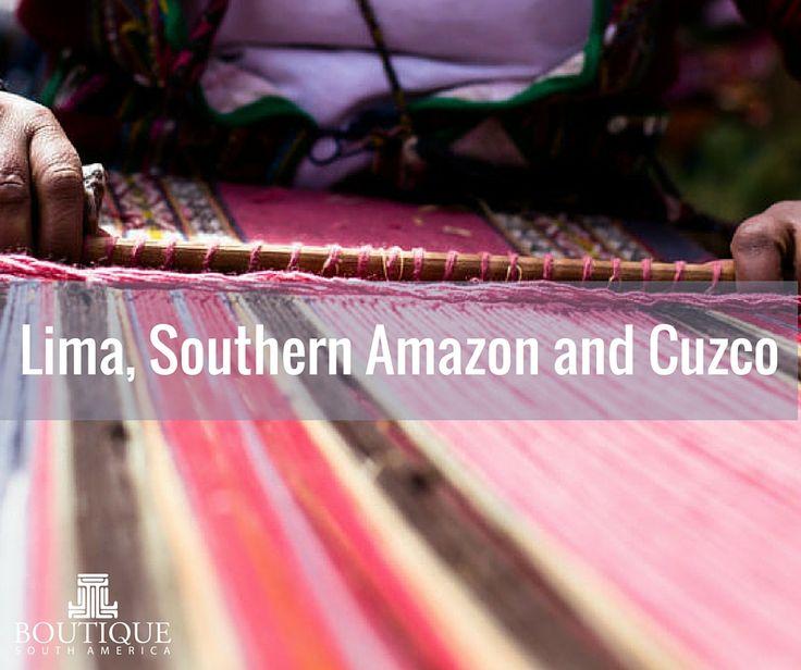 Explore Lima, Southern Amazon and Cuzco here: http://www.boutiquesouthamerica.com.au/product/lima-amazon-cuzco/
