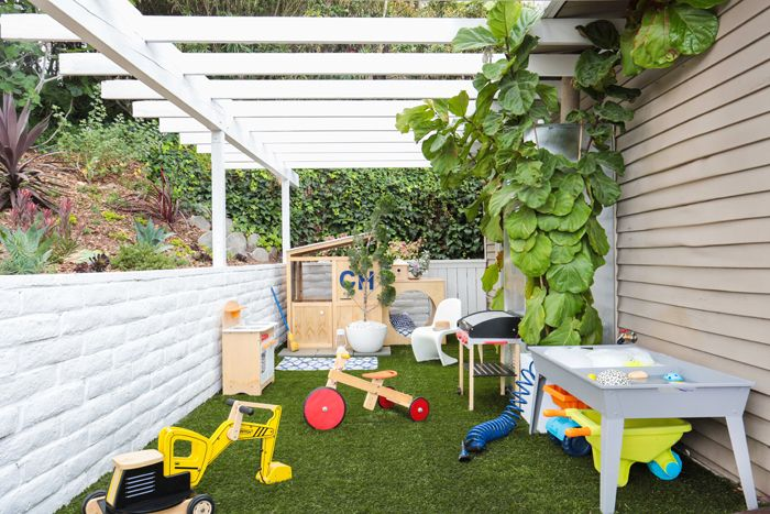 Charlie's Outdoor Play Area