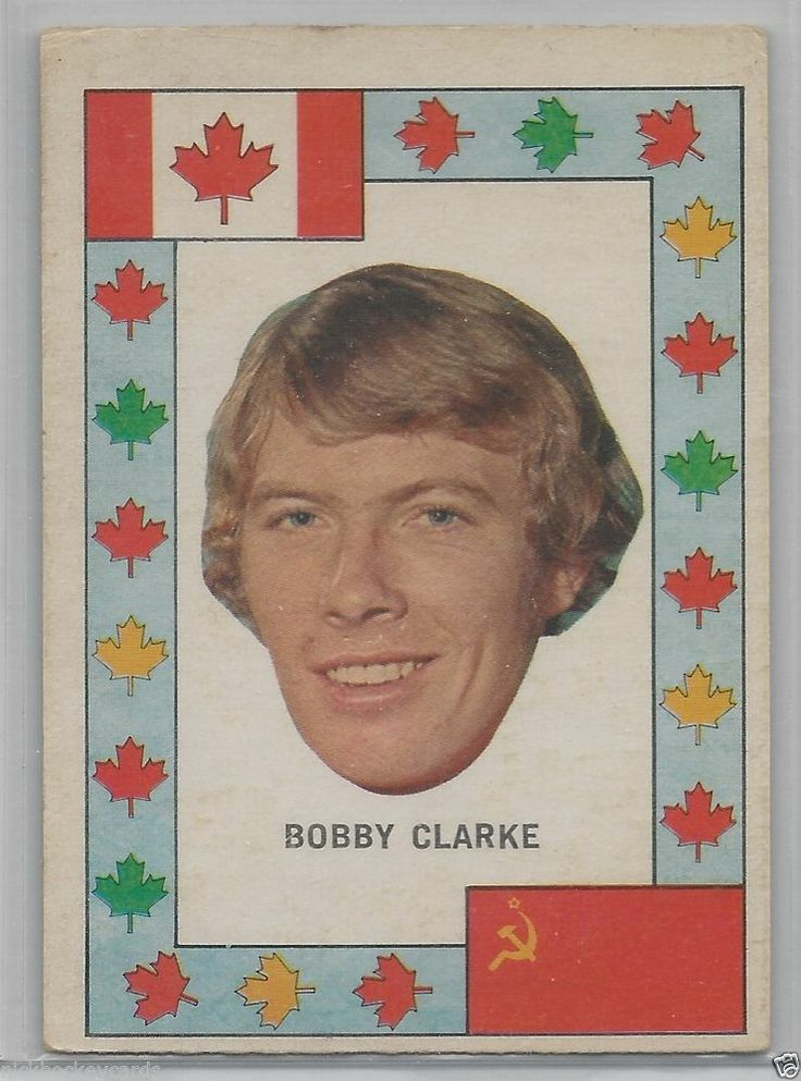 1972-73 OPC O-Pee-Chee Bobby Clarke Team Canada EX