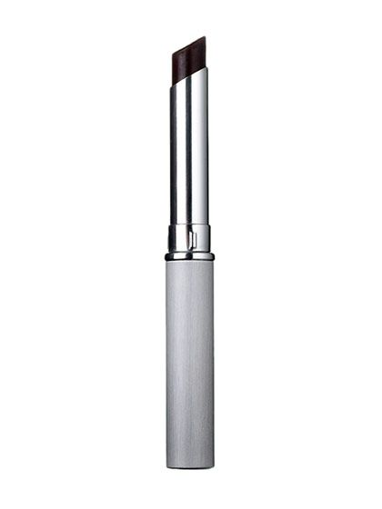 """Clinique Almost Lipstick in Black Honey: A combination of red, blue, orange, and yellow pigments makes this color truly beautiful on every skin tone. """"It enhances what you've already got,"""" says makeup artist Quinn Murphy."""