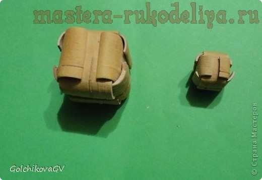 Master-class tecelagem casca de bétula: Cube caixa-Charme
