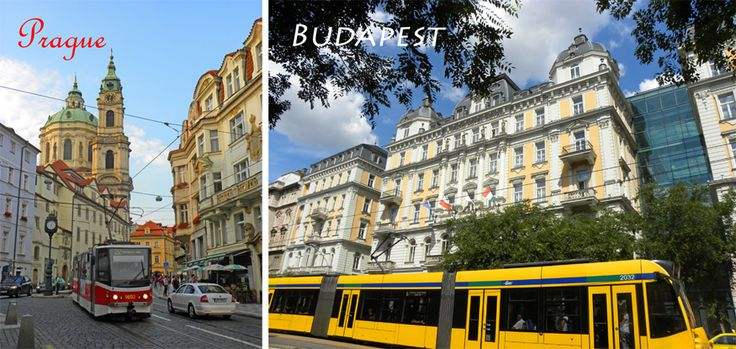 transport in Budapest and Prague