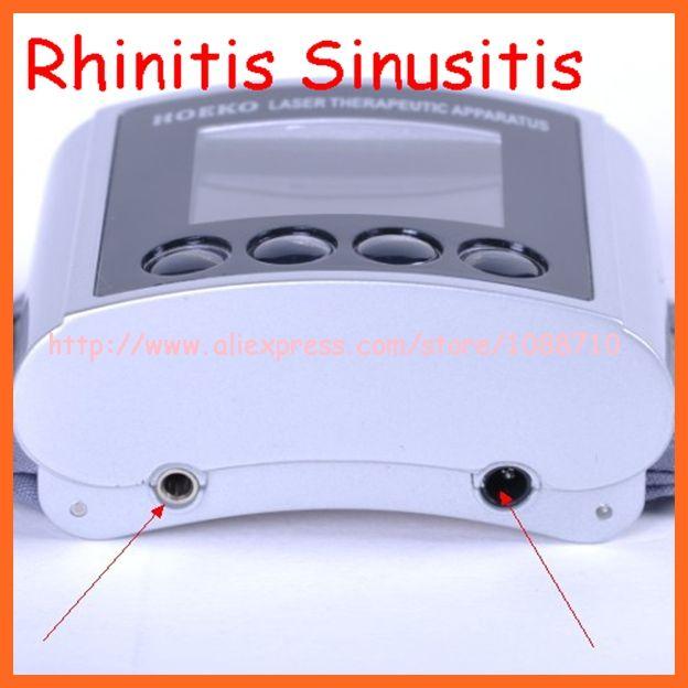 Нм низкочастотный физиотерапия 6 лазеров лечения хронического риносинусита, аллергический ринит лазерные часы
