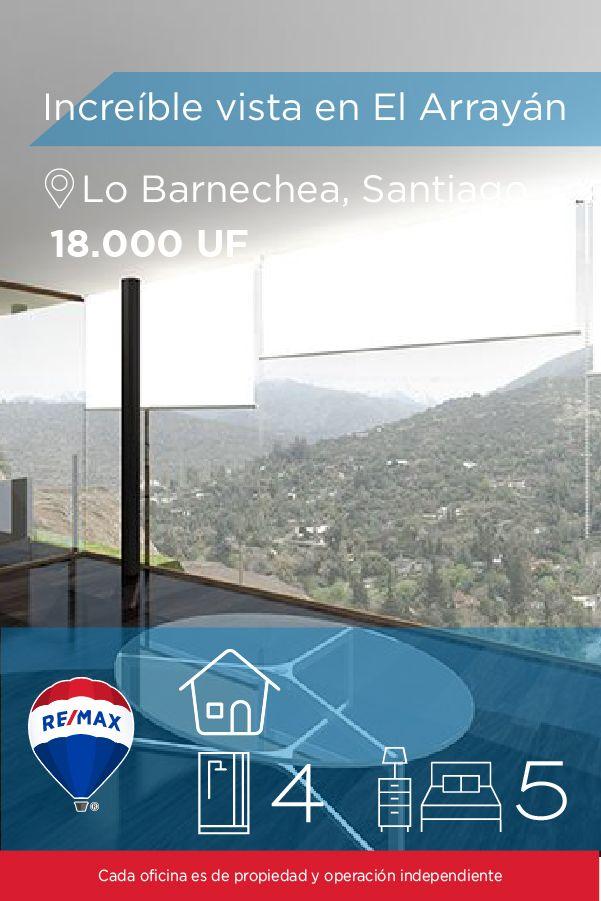 [#Departamento en #Venta] - Condominio de Lujo, Increíble vista en El Arrayán  🛏: 5 🚿: 4  👉🏼 http://www.remax.cl/1028054002-20 #propiedades #inmuebles #bienesraices #inmobiliaria #agenteinmobiliario #exclusividad #asesores #construcción #vivienda #realestate #invertir #REMAX #Broker #inversionistas #arquitectos #venta #arriendo #casa #departamento #oficina #chile