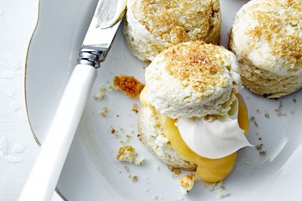 Put a coconut twist on classic scones with this beautiful Mother's Day recipe, perfect for high tea!