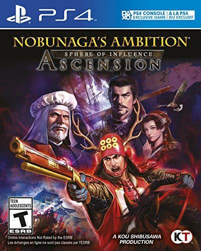 #6: Nobunaga's Ambition: Sphere of Influence - Ascension - PlayStation 4