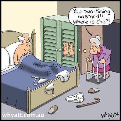 Cartoons of adult humor