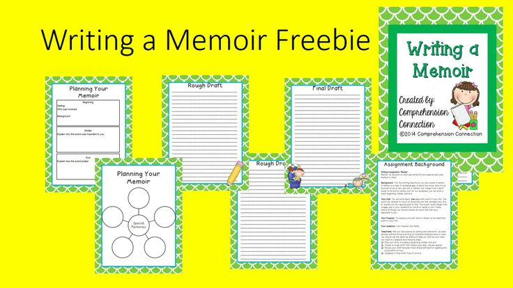 Free-Studying and writing memoirs are an important part of a reading and writing program, and are very enjoyable. There are many wonderful examples of memoirs that teachers can use as mentor texts including books by Patricia Polacco, Cynthia Rylant, Eve Bunting, and Mem Fox. After learning about the memoir genre and analyzing a few, students are ready to write their own. This writing set will guide your students through the memoir writing process. My students enjoyed it, and I hope yours do…
