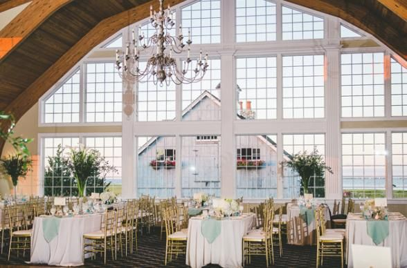 Who knew the most unique wedding venues in New Jersey would include the possibility of your own private island with a boathouse chapel? Photo by Rachel Pearlman Photography