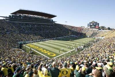Autzen Stadium- Home of Oregon Duck Football