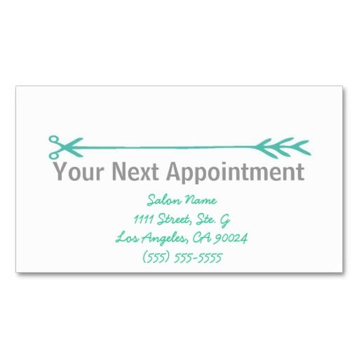 370 best Appointment Reminder Business Cards images on Pinterest