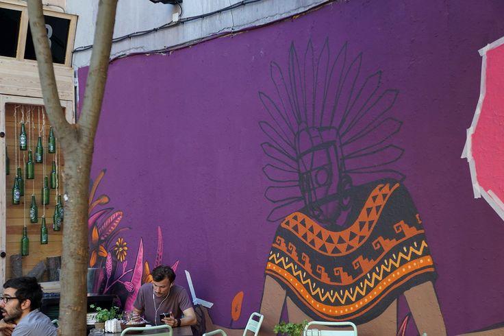 "Edgar Flores y Javier Iglesias ""Mind the Wall Project"" #10 Swinton & Grant / San Millán #Latina #ArteUrbano #StreetArt #Arterecord Abril 2015 https://twitter.com/arterecord"