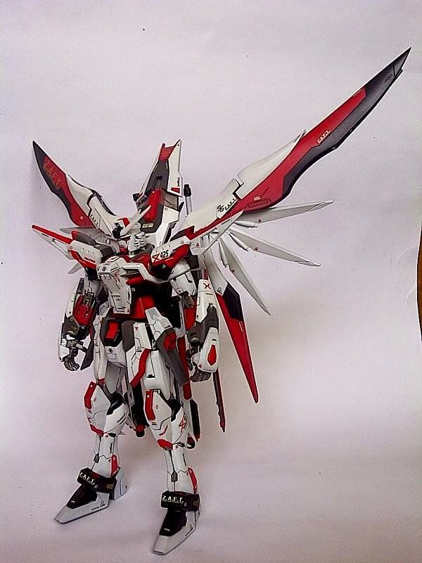 "Custom Build: MG 1/100 Destiny Gundam ""Evolve Custom"" - Gundam Kits Collection News and Reviews"