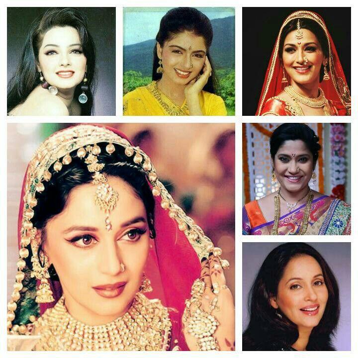Madhuri dixit, Mamta Kulkarni, Sonali Bender,Renuka Shahane, Ashwini Bhave