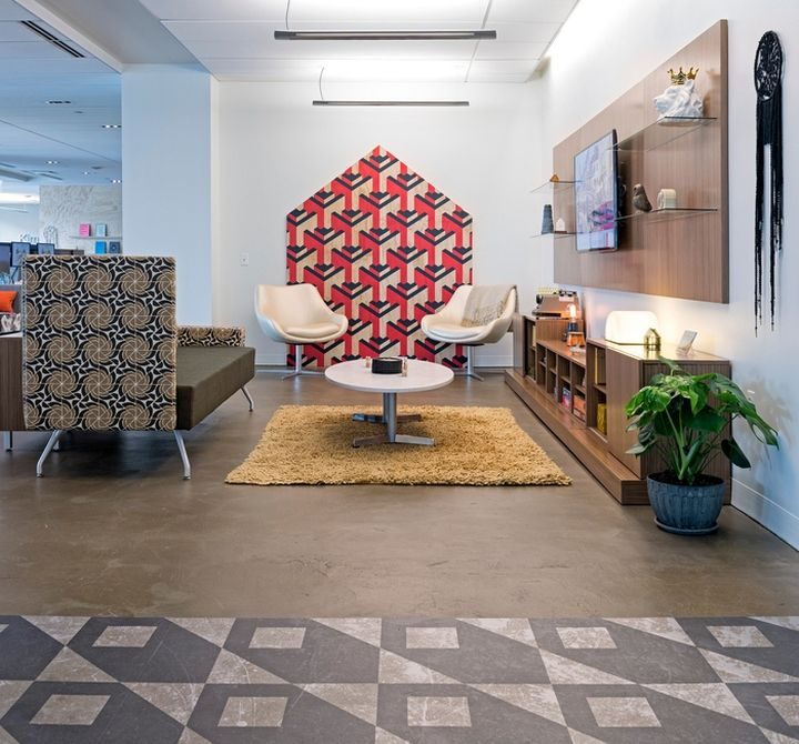 Studio O+A Has Designed The Showroom Of Office Furniture Manufacturer  Kimball Office Located In Chicago, Illinois. The Kimball Office Chicago  Showroom Was ...