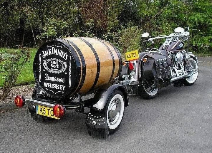 remorque moto jack daniels