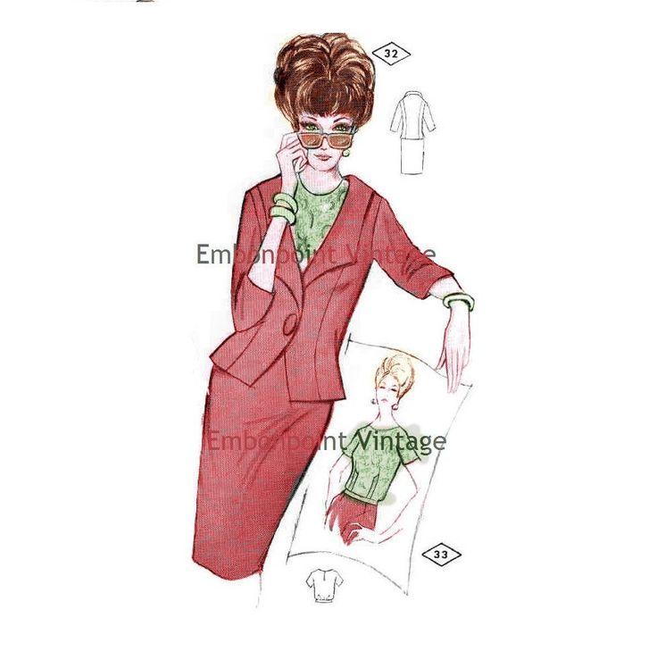 Plus Size (or any size) Vintage 1969 Women's Suit  Pattern - PDF - Pattern No 32 33 Shawna https://t.co/EchX2xxb7A #Etsy #EmbonpointVintage #Patterns https://t.co/AnMnMQR957 https://t.co/BK71AO7rRX https://t.co/a31Dq6U4UD..................... https://t.co/BNpzOCrRzW
