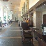 Lobby at the Hilton Phuket Arcadia Resort & Spa in Karon, Thailand
