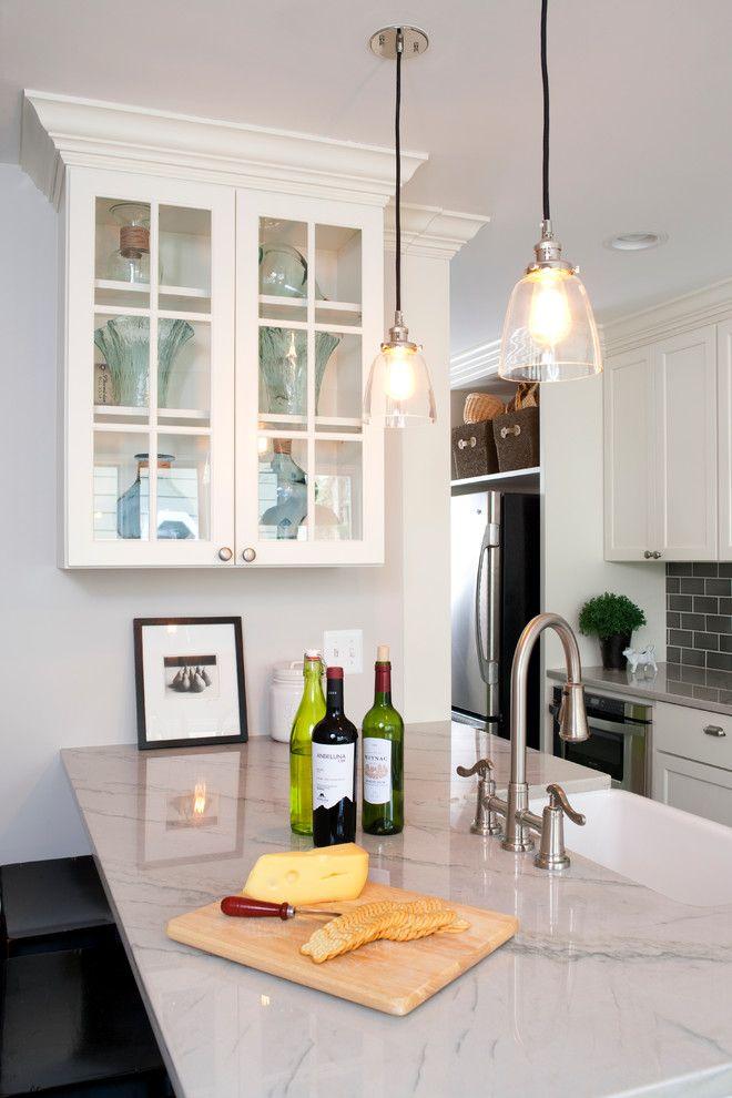 White Kitchen Granite