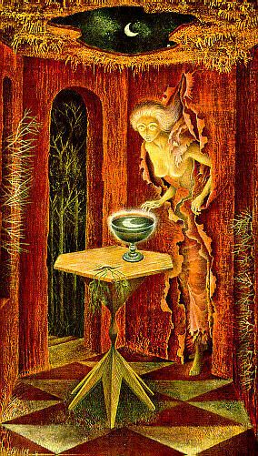 One of my vary favorite from Remedios Varo