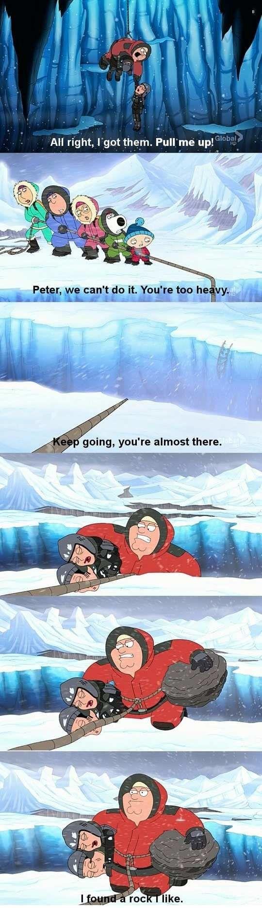 """""""Pretend I'm your child, Lois! NOT MEG!"""""""