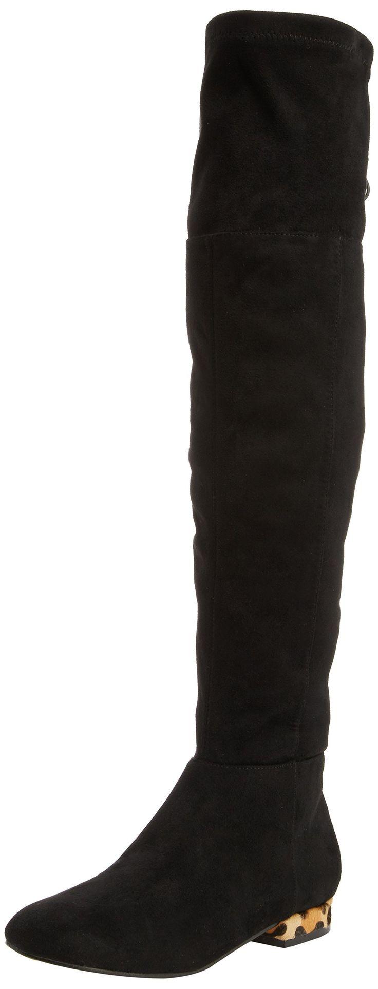 Miss KG Velvet, Women's Knee-High Boots, Black 5 UK (38 EU)