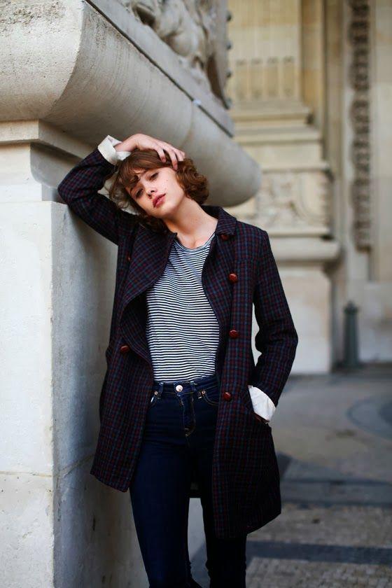 diane keaton street style | ALL THE PRETTY BIRDS: Monday's inspiration: Mathilde Warnier