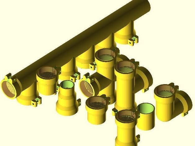 Plans for 3D printing of pipe joints