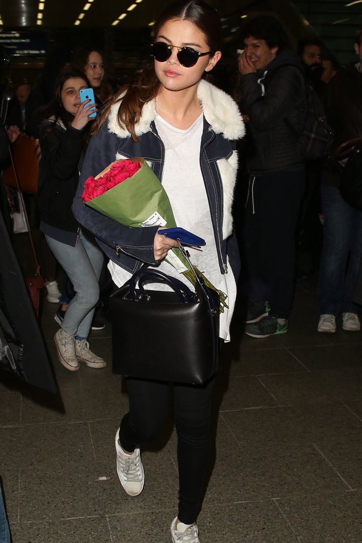 Selena Gomez Just Wore the 1 Travel Outfit You Can Actually Copy
