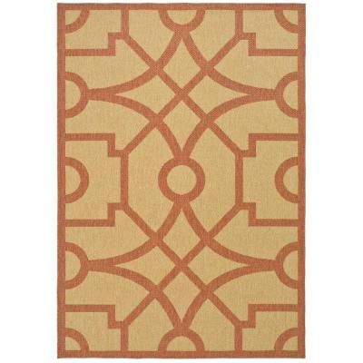 Exceptional Martha Stewart Fretwork Indoor/Outdoor Rug #homedepot