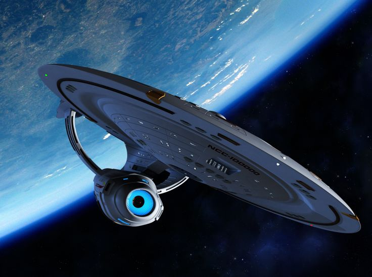 Star Trek: Another possible alt-verse design of the NCC-1701