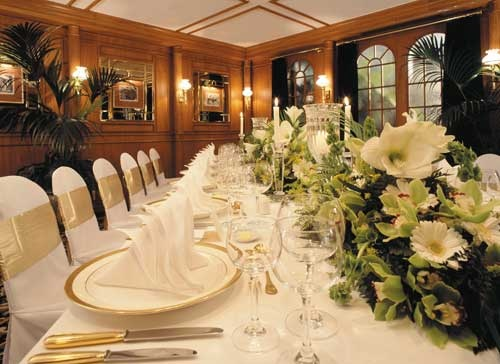 Gorgeous wedding setting, Greys Room, The Langham Auckland