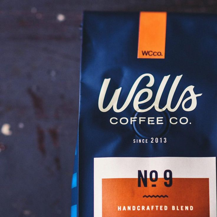 "112 Likes, 4 Comments - Steve Wolf (@stevewolfdesigns) on Instagram: ""Shot of the No. 9 blend for @wellscoffees."""