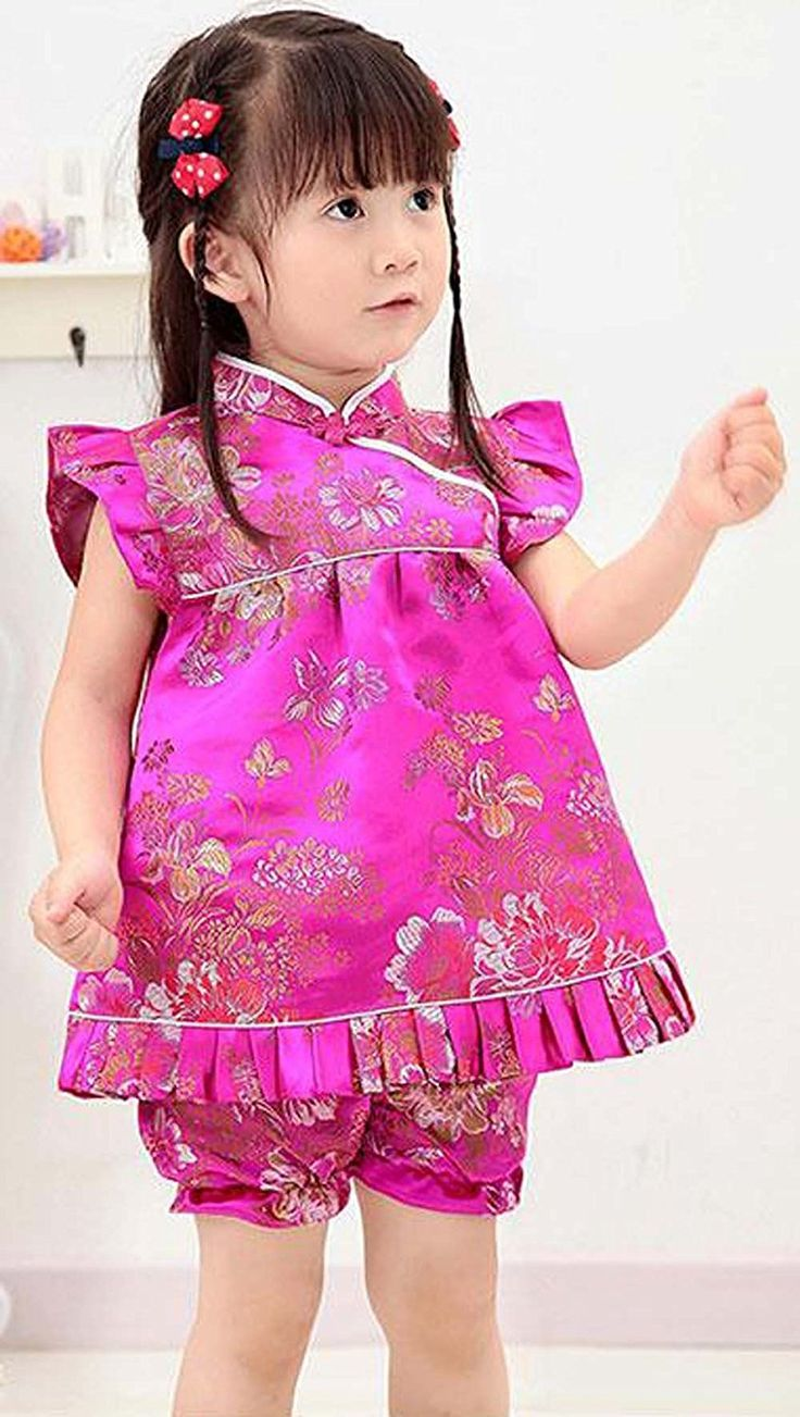 CRB Fashion Baby Toddler Kids Girls Qipao