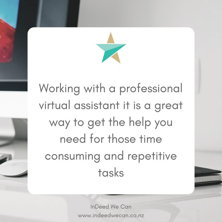 Working with a professional virtual assistant, it is a great way to get the help you need to grow your business  #businesstip #virtualassistant