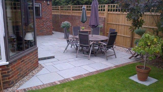 #paving #garden pebbles around house