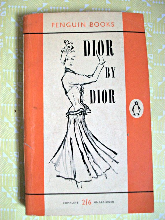 Dior by Dior 1950s Penguin Christian Dior Biography on Etsy, $18.47 AUD